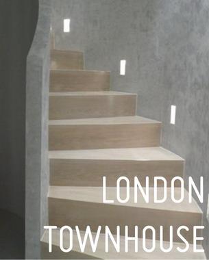 Projekat daleko složeniji od  intervencije  dizajna  enterijera predstavljao je nastavak saradnje sa klijentom, koji je u Londonu kupio  četiri  posebna apartmana smeštena u dve susedne zgrade, sa željom da se oni objedine u jednu stambenu celinu.