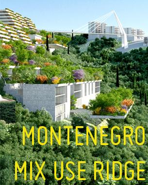 Prijedlog za jedinstveno mesto   na crnogorskoj obali, udaljeno nekoliko minuta od Prevlake.Osnovna ideja projekta  je da  kreira letovalište sa mešovitim sadržajima i programima koji su okruženi ambijentom  netaknute prirode.  Pristup vozilima je sveden na minimum, dok je izgradnja objekata predvidjena u skladu sa principima održive gradnje.